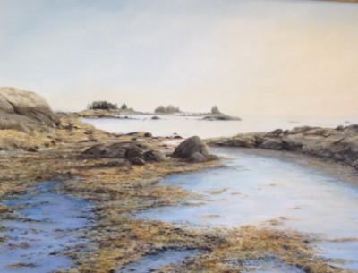 "Jane Herbert ~ ""Good Company"" ~ Acrylic on Canvas"