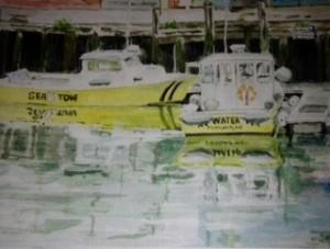 """Sea Tow"" by Wilson Stewart"