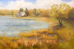 "Felicity Sidwell ~ ""Phippsburg"" ~ Oil on Canvas 20"" x 30"""