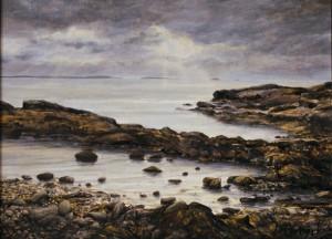 "Jane Herbert ~ ""Brightening"" ~ Acrylic on Canvas 12"" x 16"""