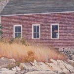 """Randy Eckard ~ """"Pause To Reflect"""" ~ Watercolor on Paper 12"""" x 8"""""""