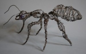"Jean Noon ~ ""Ant"" ~ 5"" x 12"" x 7"""