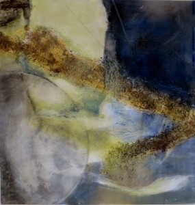 "Pat Chandler ~ ""Abstract II"" ~ Mixed Media 15"" x 15"""
