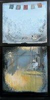 """Pat Chandler ~ 'Blizzard' ~ Oil on Panel 48"""" x 24"""""""
