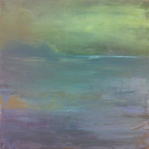 "Jen Pagnini ~ ""Facing East"" ~ Plein Air Oil on Wood Panel 6"" x 6"""