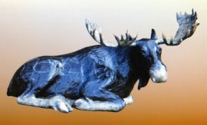 "Charles Ellithorpe, DVM ~ ""Moose"" ~ Bronze Sculpture Limited Edition of 30"