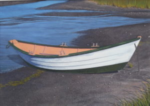 "Randy Eckard ~ ""Incoming Tide"" ~ Watercolor on paper 15' x 21"""