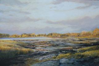 "Jane Herbert ~ 'Hawthorne Point' ~ Acrylic on Canvas 20"" x 30"""