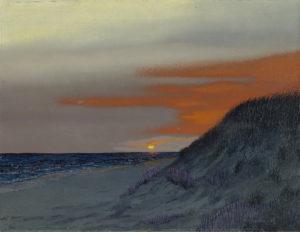 HM Saffer II ~ 'Sunset I' ~ Oil on Panel $2800.00